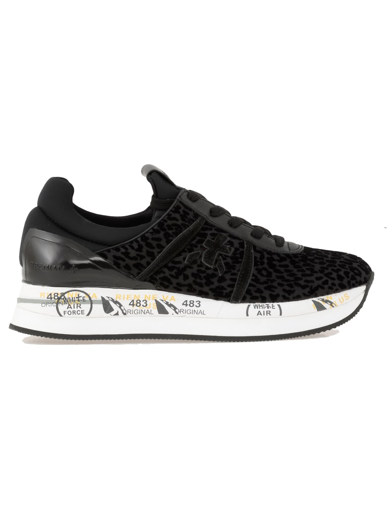 Premiata Liz Sneaker - BLACK
