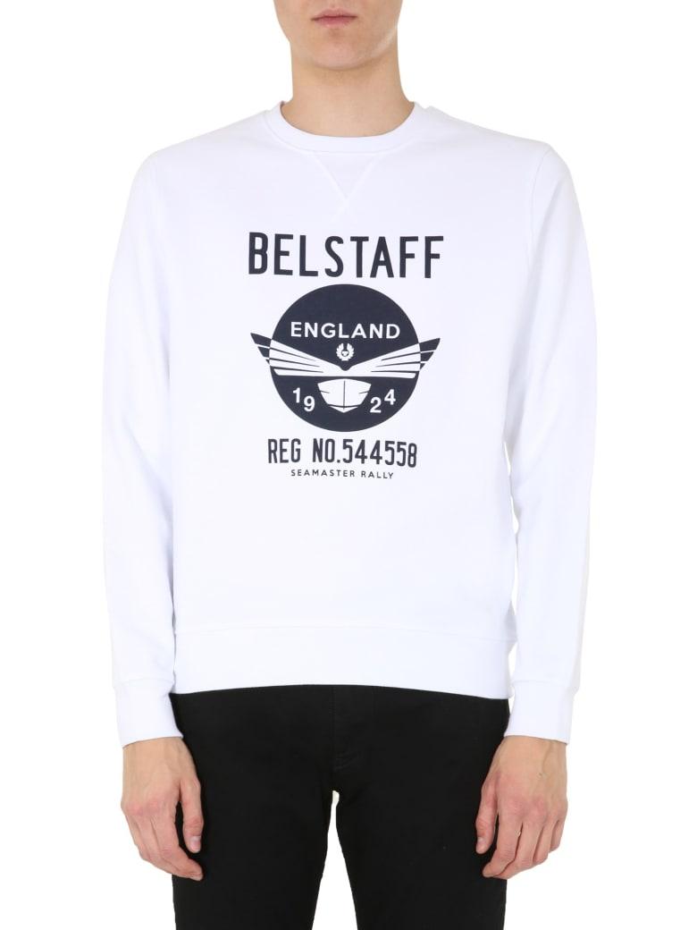 Belstaff Seamasters Sweatshirt - BIANCO