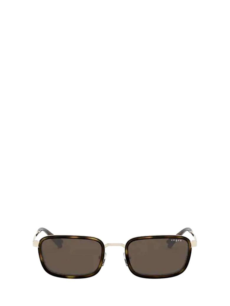 Vogue Eyewear Vogue Vo4166s Pale Gold Sunglasses - 848/73