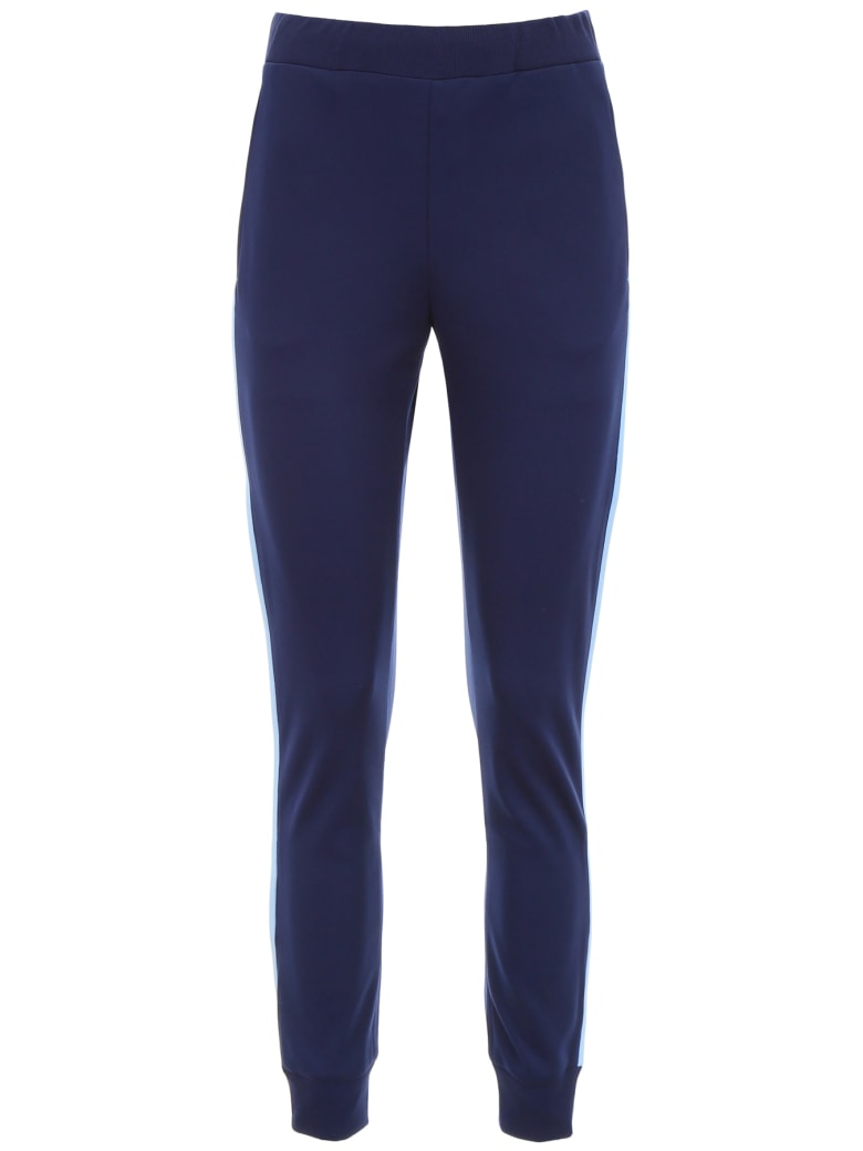 Prada Linea Rossa Joggers With Side Band - BALTICO+AZZURRO (Blue)
