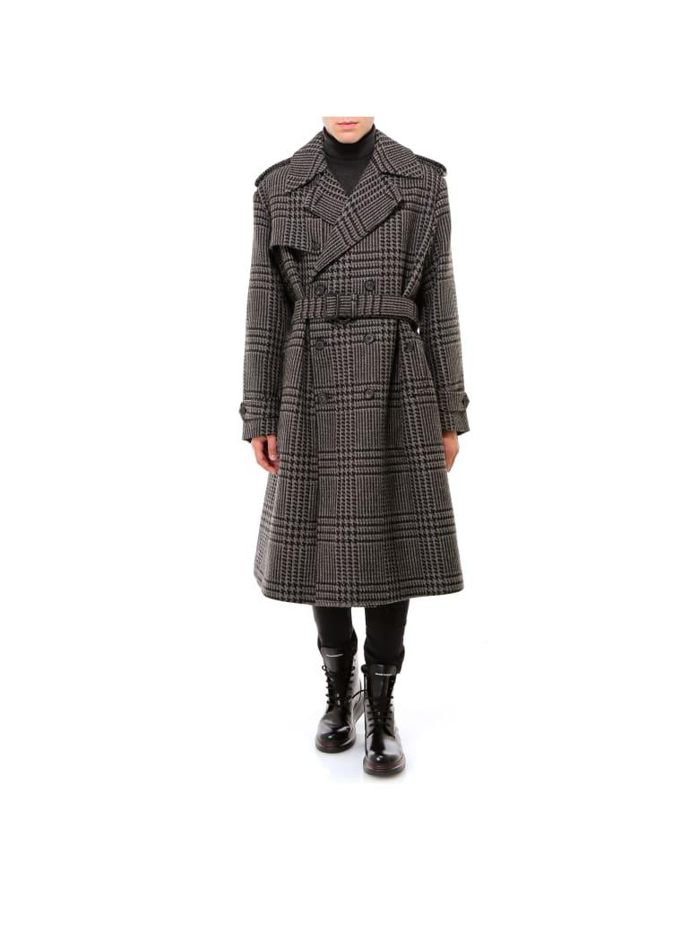 Alexander McQueen Coat - Grey