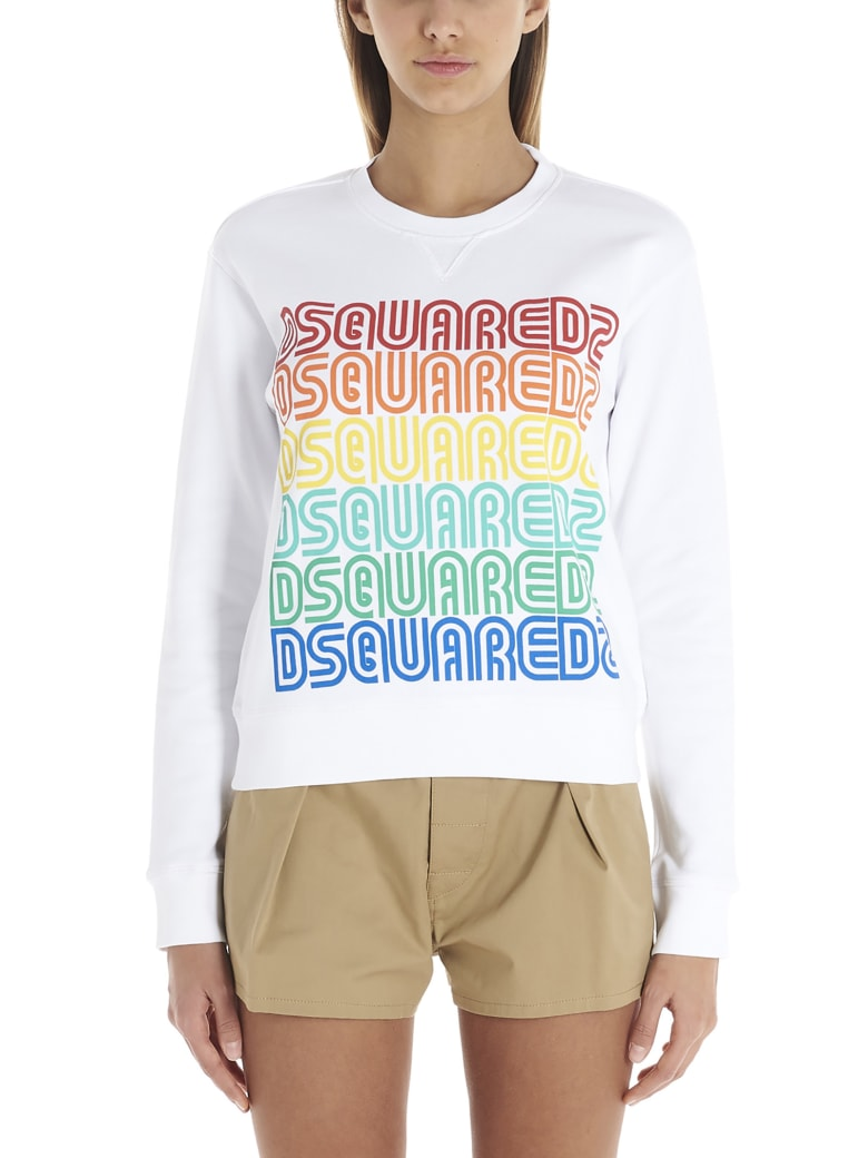 Dsquared2 Sweatshirt - White