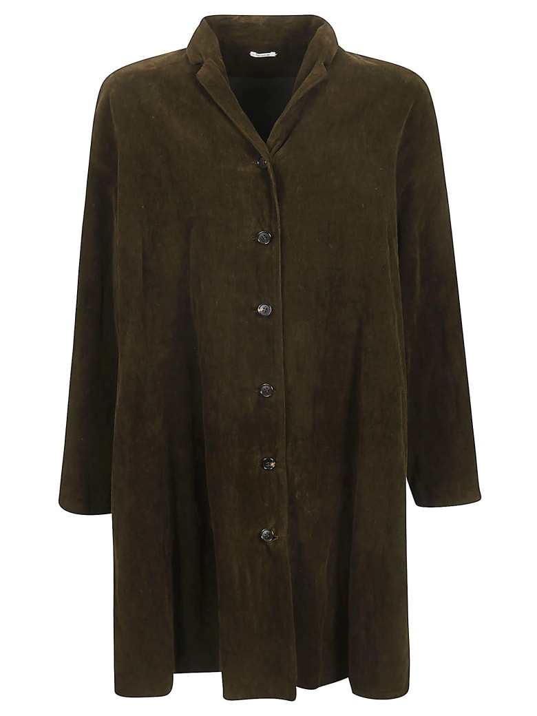 A Punto B Oversized Coat - Brown