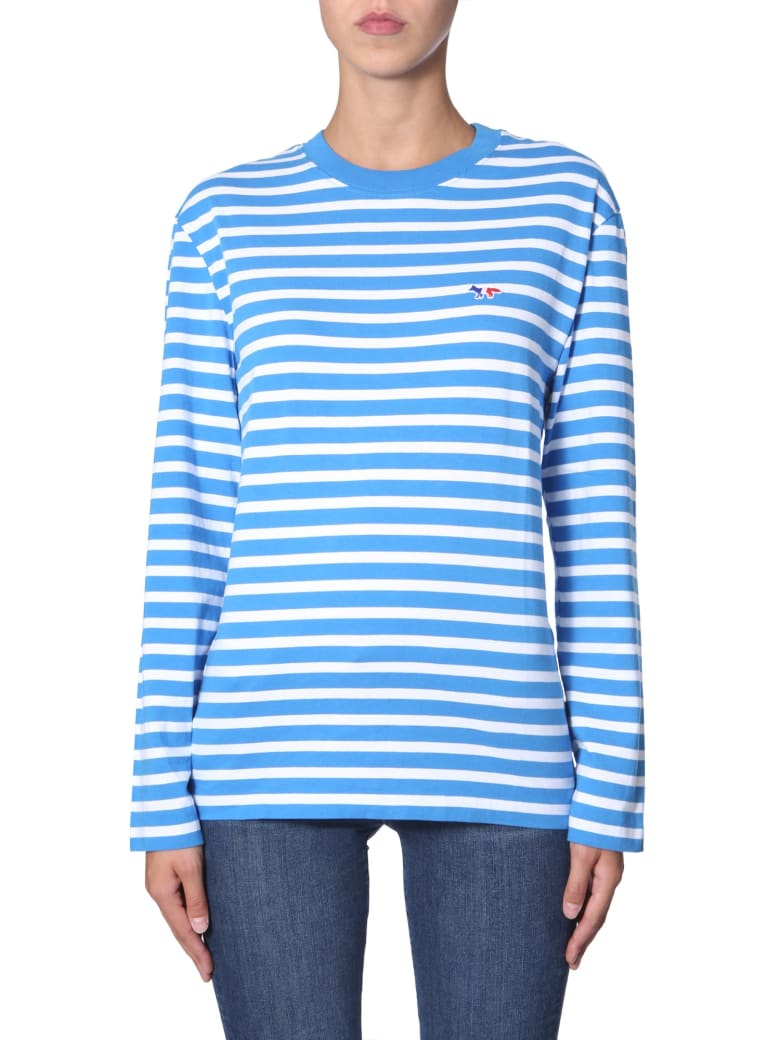 Maison Kitsuné Long Sleeve T-shirt - MULTICOLOR
