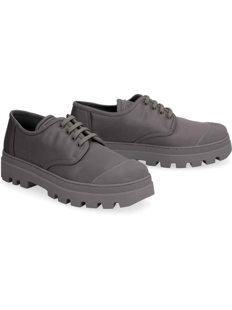 Prada Derby Lace-up Shoes - grey
