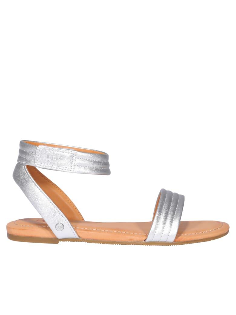 UGG Ethena Sandal - Silver