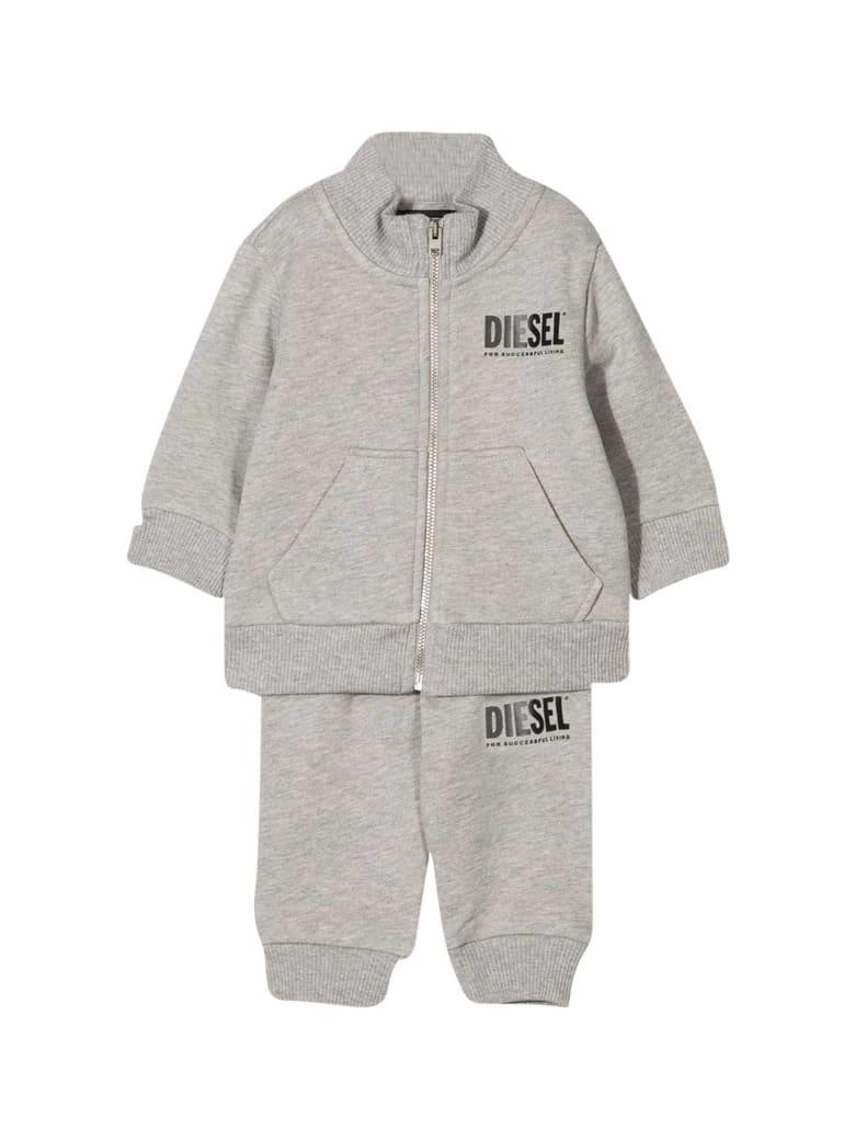 Diesel Gray Jumpsuit Baby