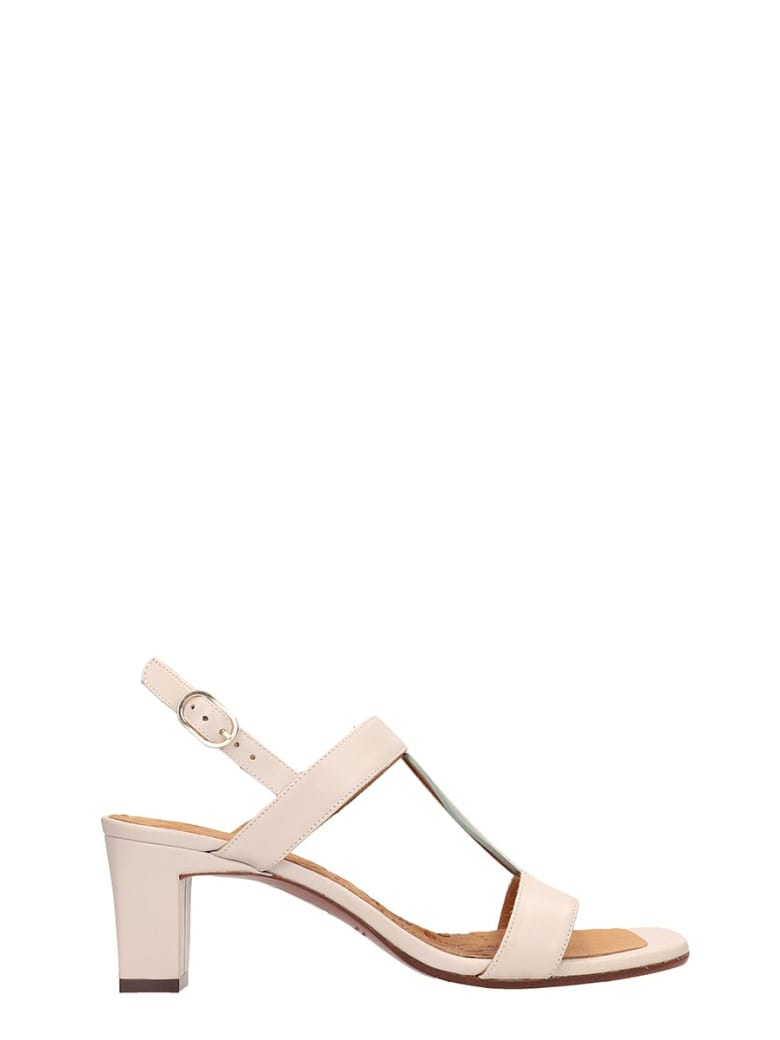 Chie Mihara Beige Leather Lopal Sandals - beige