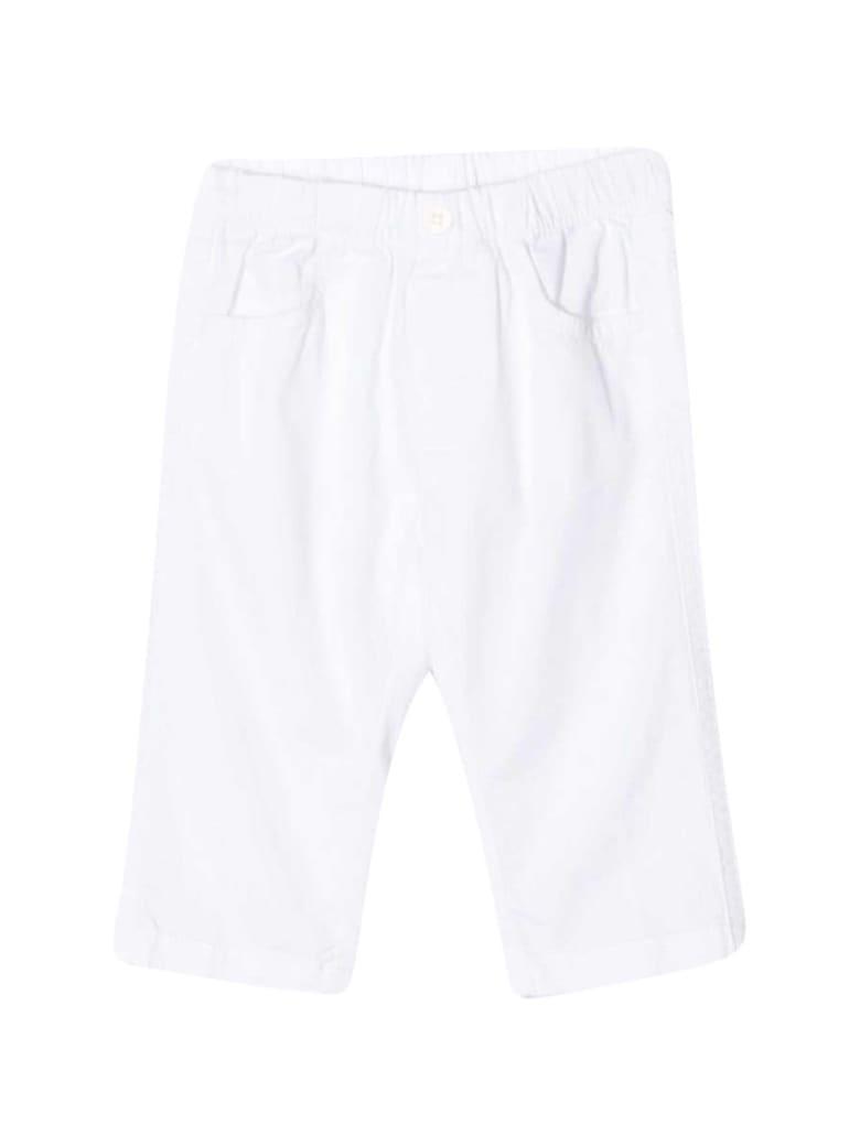 Il Gufo Elasticated Waist Pants - Bianco