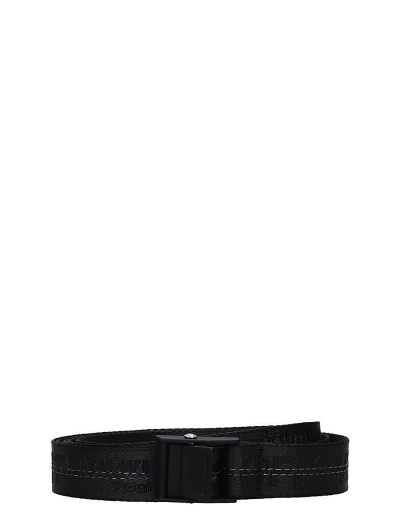 Off-White Mini Industrial Belts In Black Tech/synthetic - black