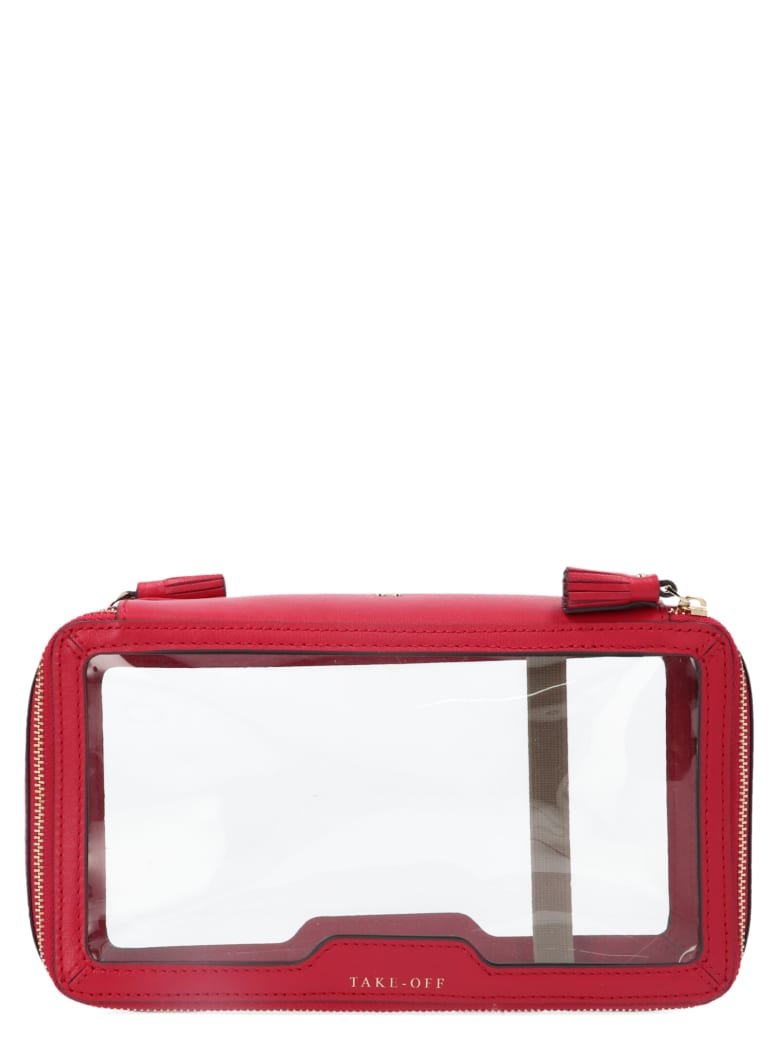 Anya Hindmarch 'in-flight Bag - Fuchsia