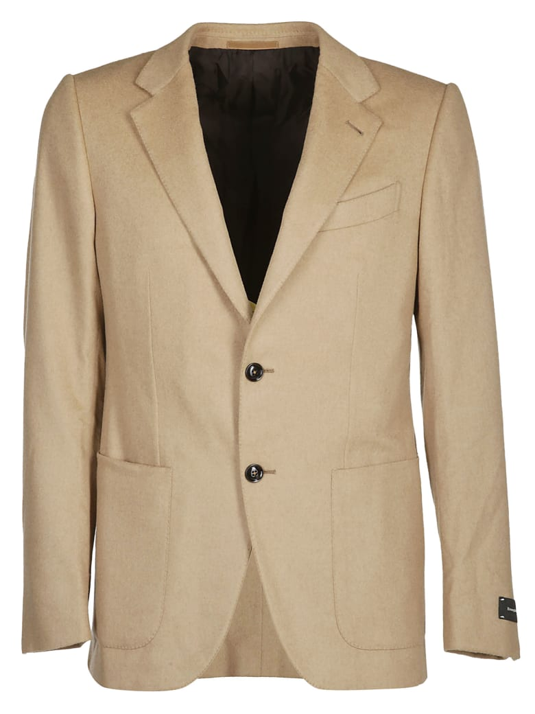 4022cf9c8a Ermenegildo Zegna Brown Wool Blazer
