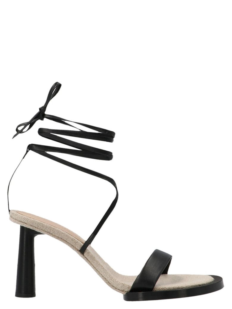 Jacquemus 'le Carre Rond' Shoes - Black