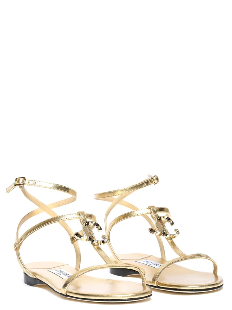 Jimmy Choo 'alodie' Shoes - Gold