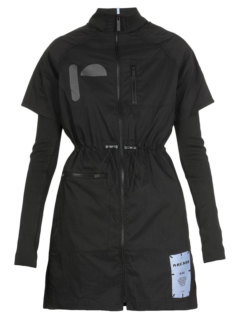 McQ Alexander McQueen Layered Shirt Dress - Darkest Black