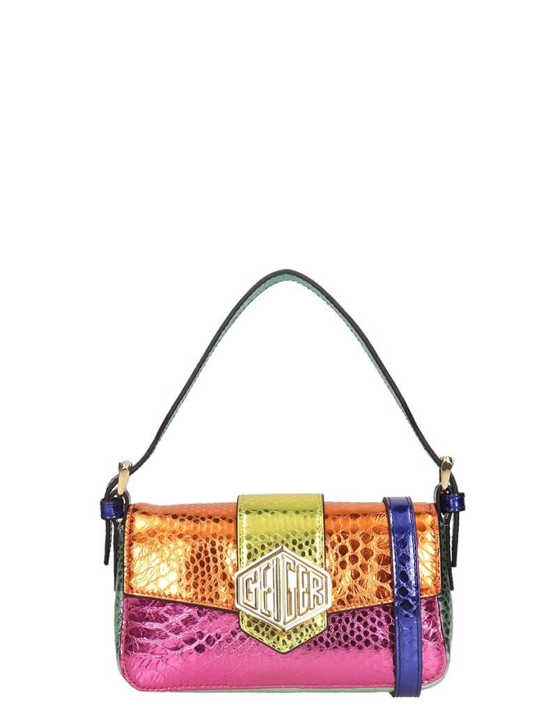 Kurt Geiger Geiger 20 Shoulder Bag In Multicolor Leather - Multicolor