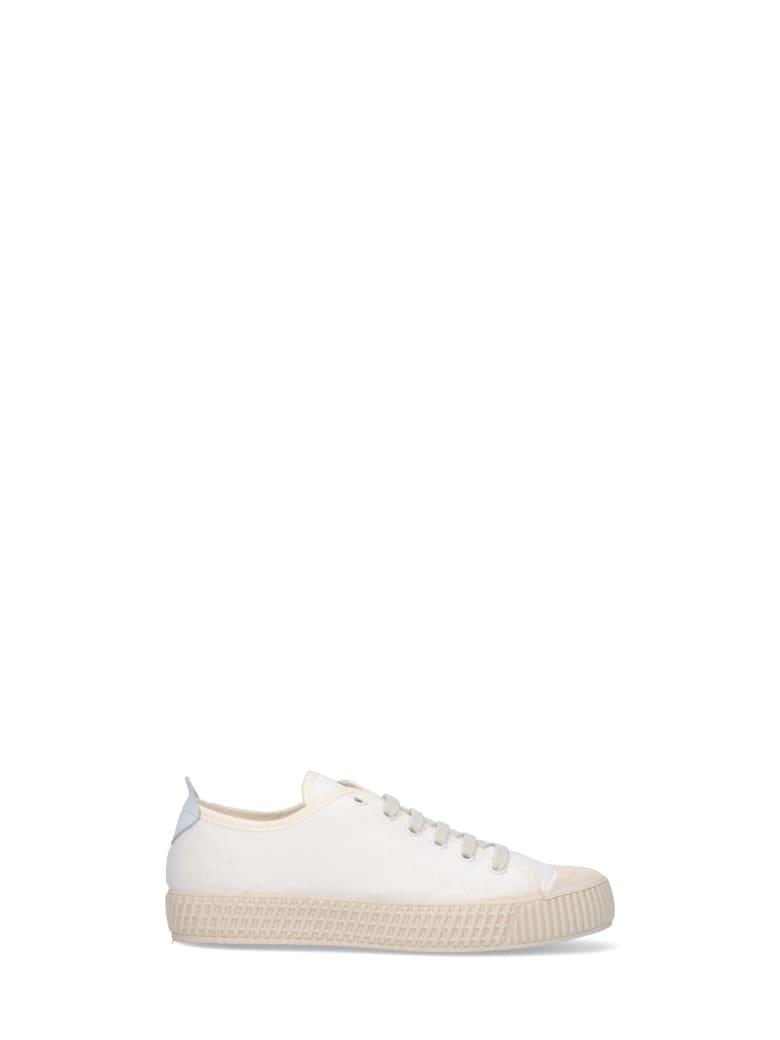 Car Shoe Sneakers - White