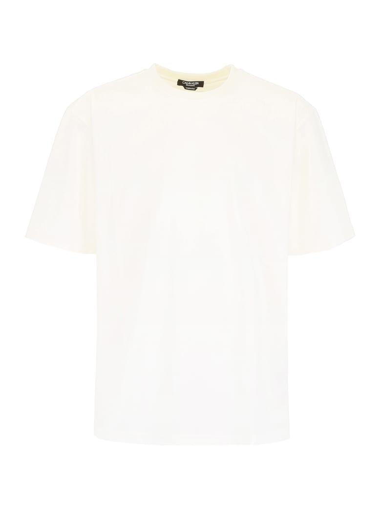 Calvin Klein Cut-out T-shirt - WHITE (White)