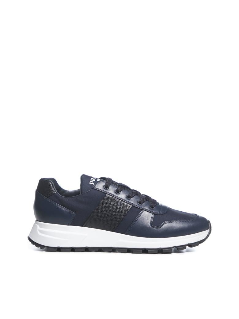 Prada Linea Rossa Prax 01 Sneakers - Oltremare nero