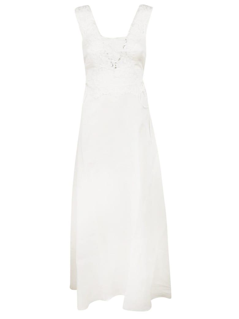 Ermanno Scervino Structured Evening Dress - white