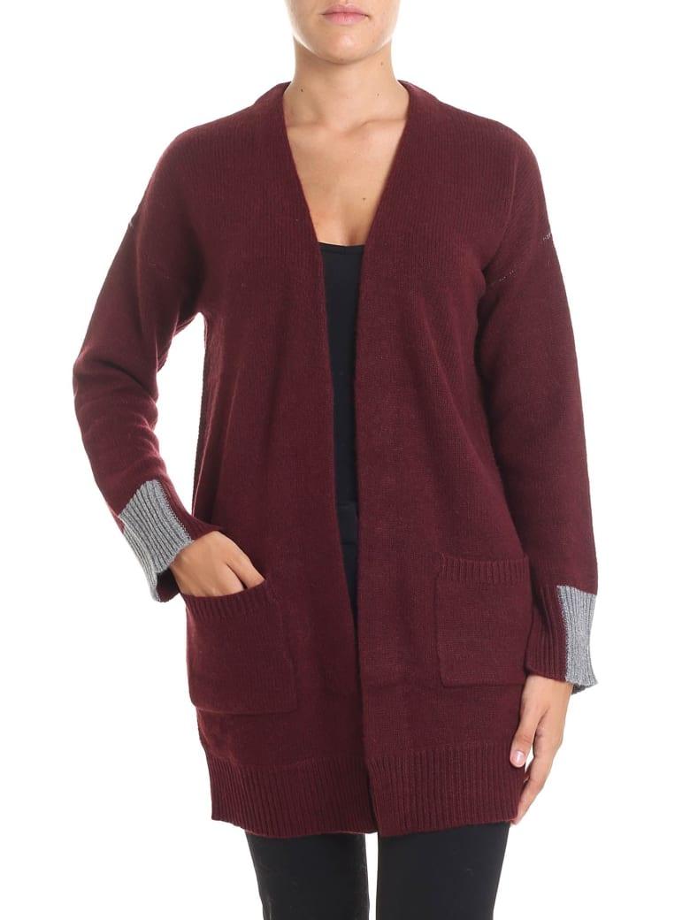 360 Sweater 360 Cashmere - Brito Cardigan - Bordeaux