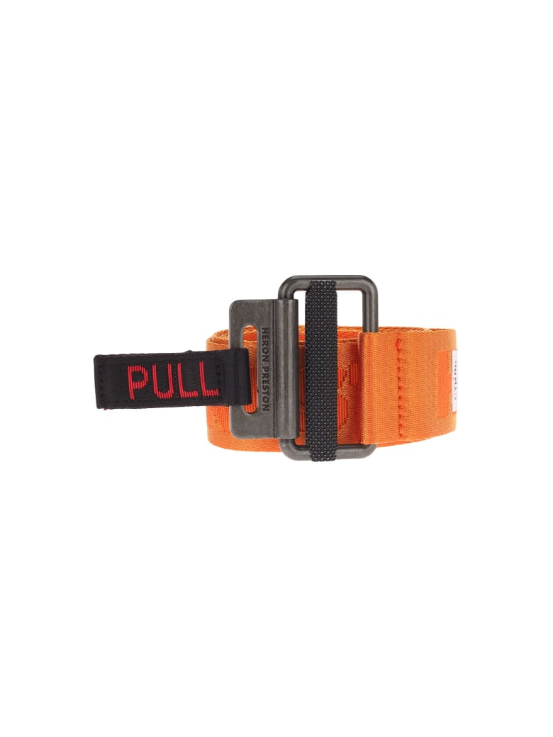 HERON PRESTON Kk Tape Belt - ORANGE