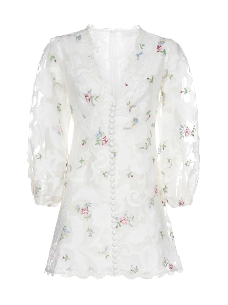 Zimmermann Dress - Ivory multi