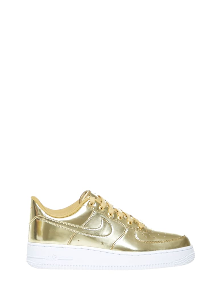 Nike Air Force 1 Sneakers - Gold
