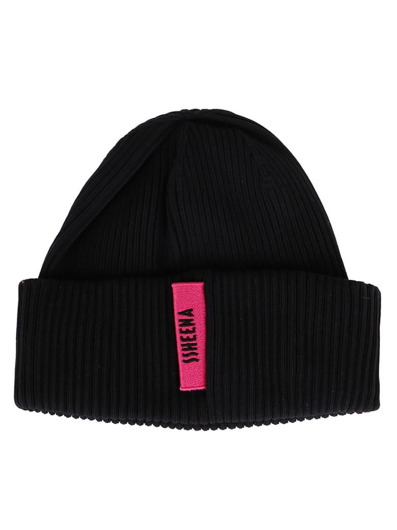 SSHEENA Black Knit Beanie - Black