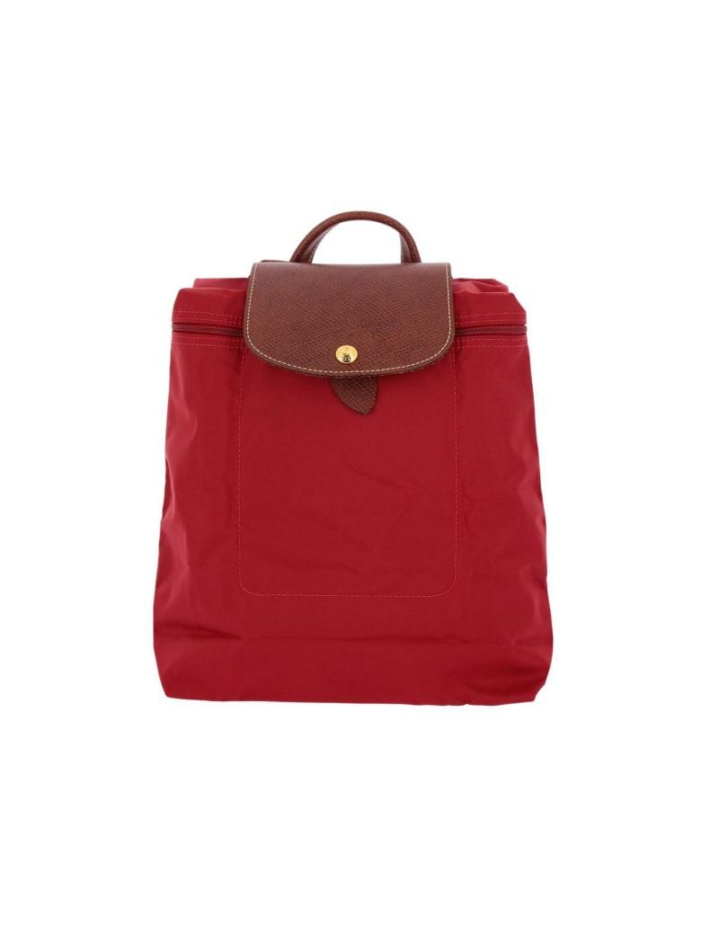 Longchamp Backpack Shoulder Bag Women Longchamp - red