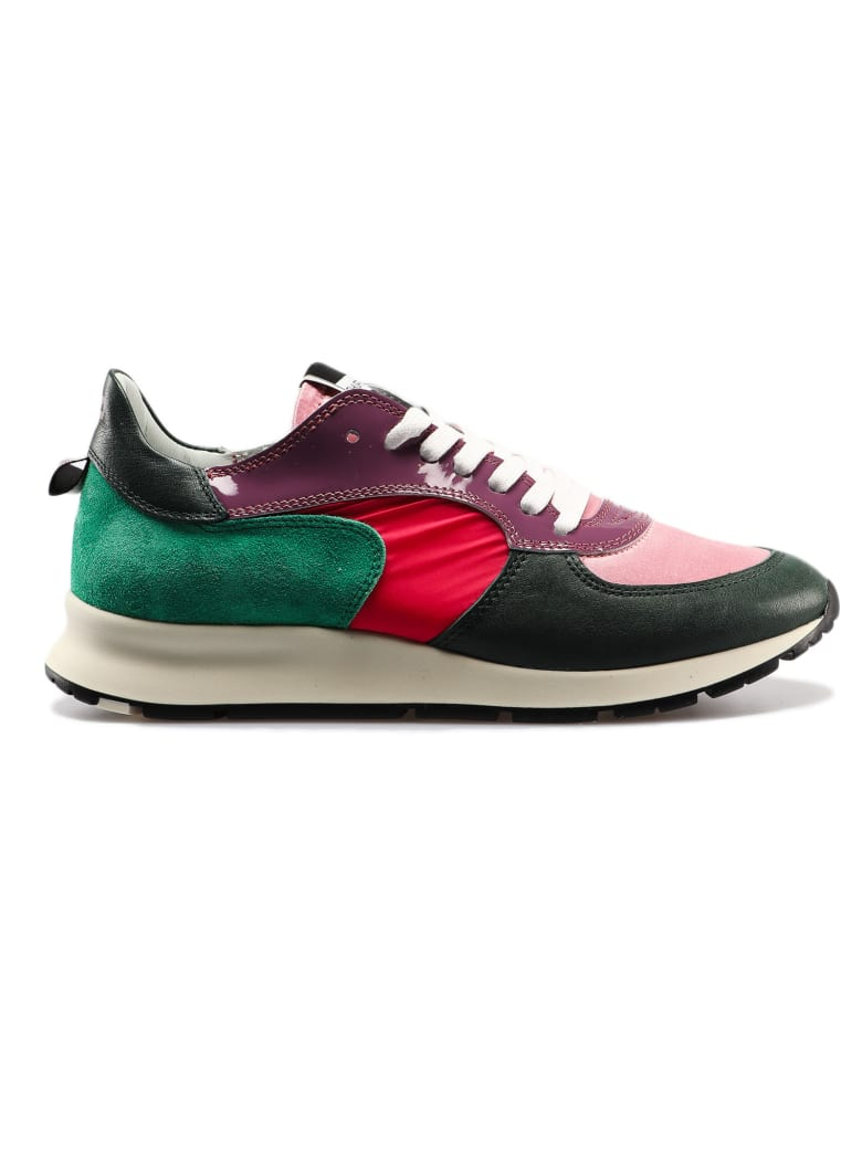 Philippe Model Montecarlo Sneakers - Vert Rose