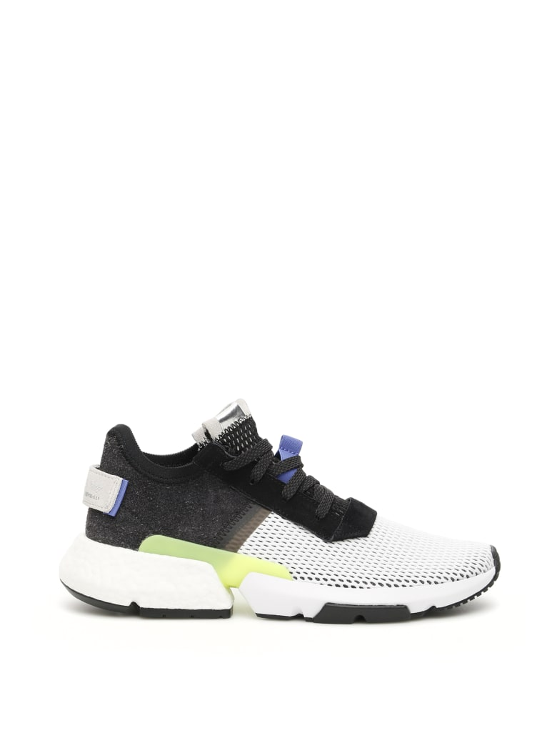great deals 2017 good out x top quality Adidas Adidas Pod S3.1 Sneakers - CBLACK REALIL SHORED (White ...