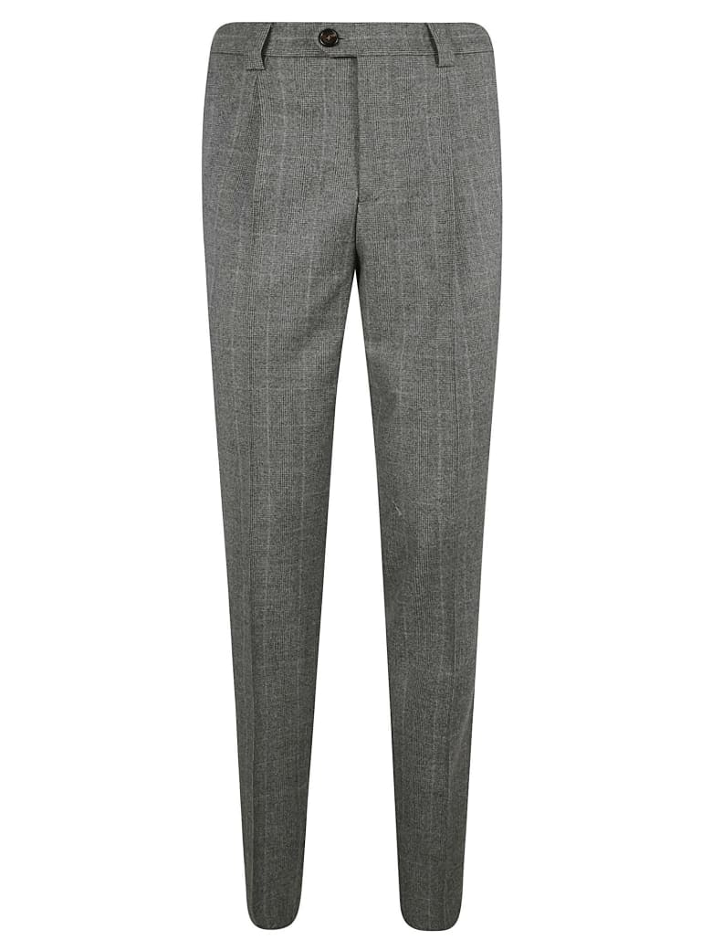 Brunello Cucinelli Buttoned Long Trousers - Grey