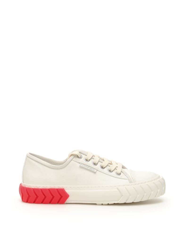 Both Low Tyres Sneakers - WHITE PINK FLUO (White)