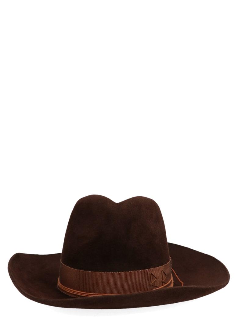 Ruslan Baginskiy 'cowboy' Hat - Brown