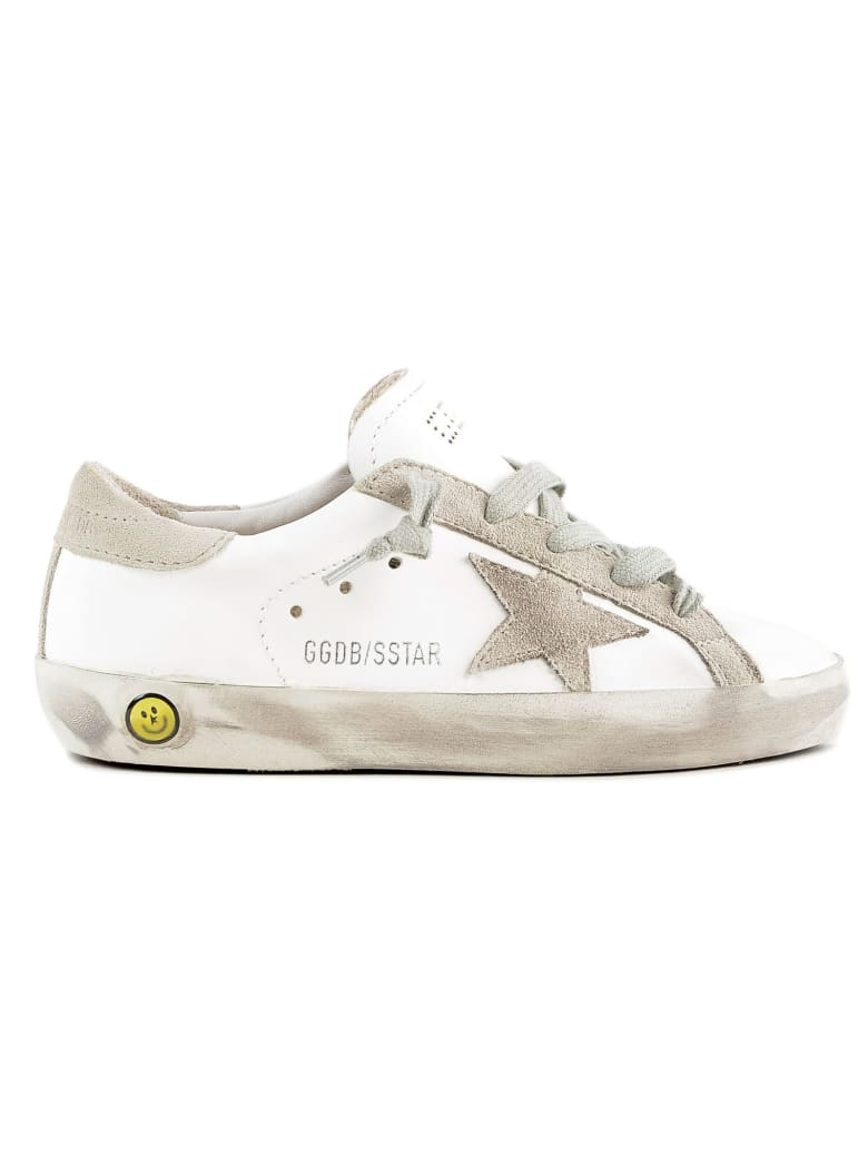 Golden Goose Sneakers Superstar - White Leather