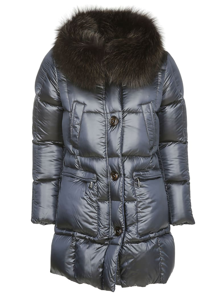 Moorer Atria Padded Jacket - Blue