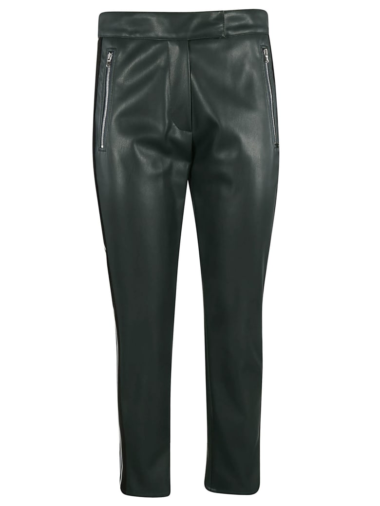 SportMax Zip Trousers - Green
