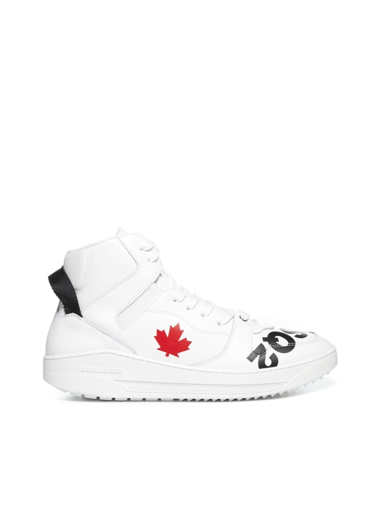 Dsquared2 Barkley Sneakers - Bianco