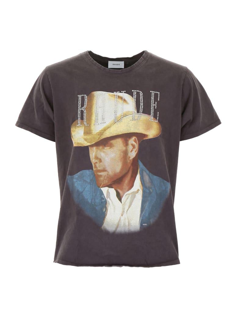 Rhude Country T-shirt - BLACK (Black)