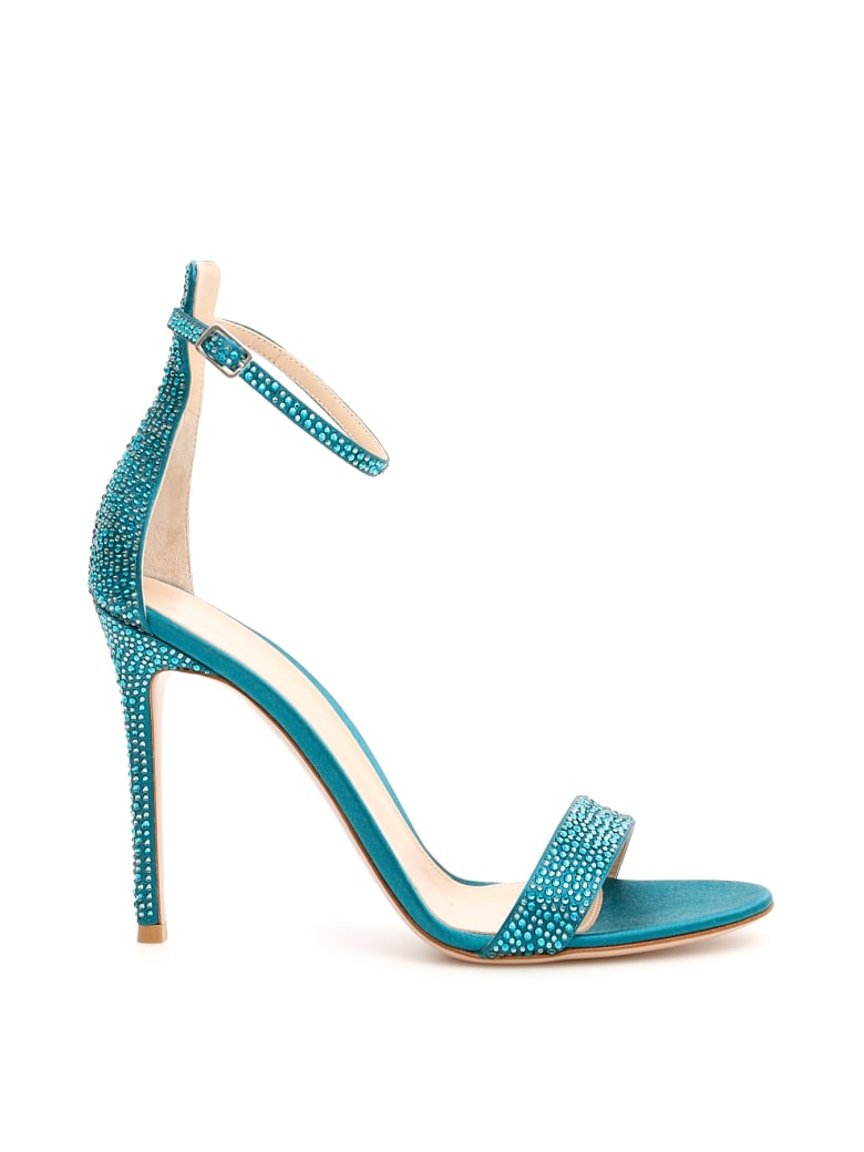 Gianvito Rossi Glam Sandals 105 - MOSAIC (Green)