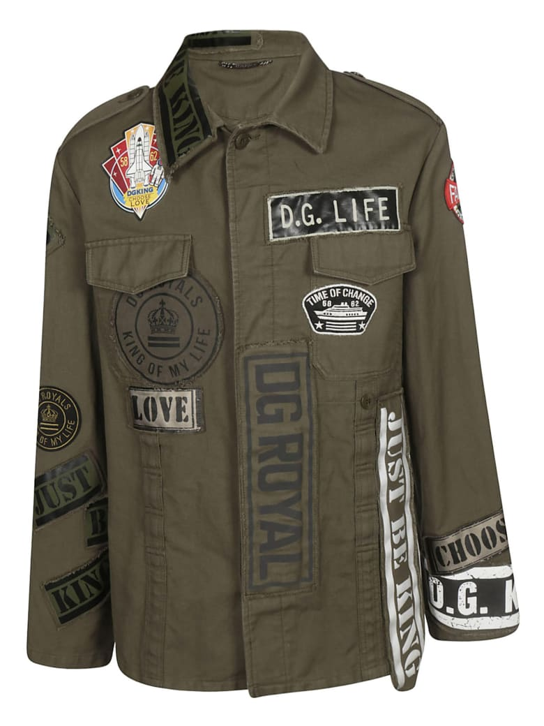 Dolce & Gabbana Multiple Patched Jacket
