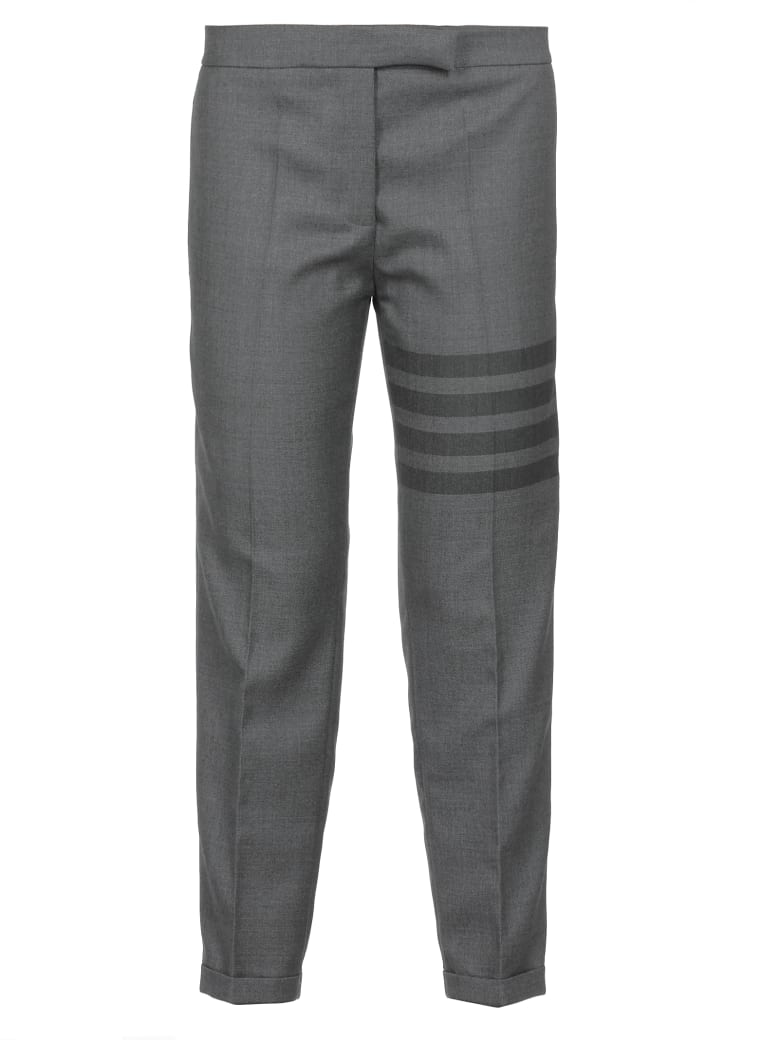 Thom Browne Twill School Uniform Trousers - MED GREY