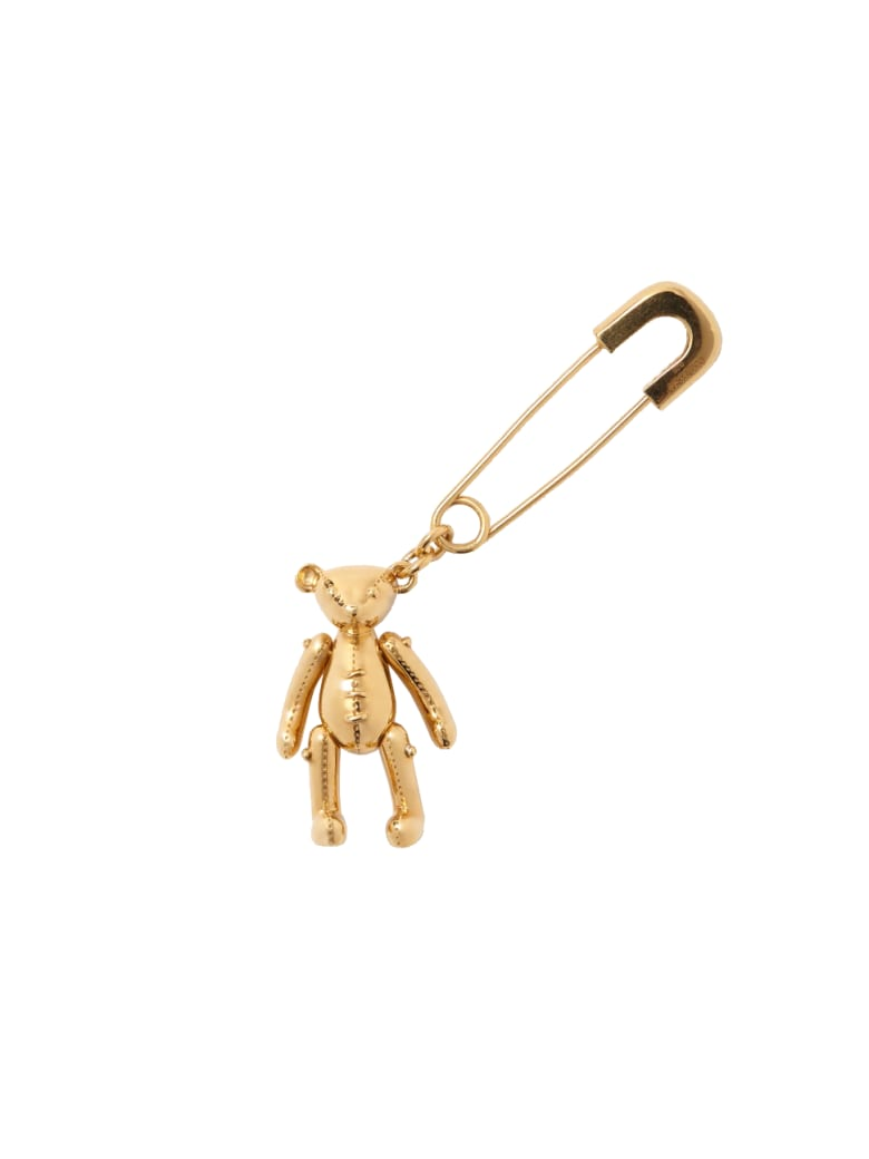 AMBUSH Teddy Bear Earring - Gold