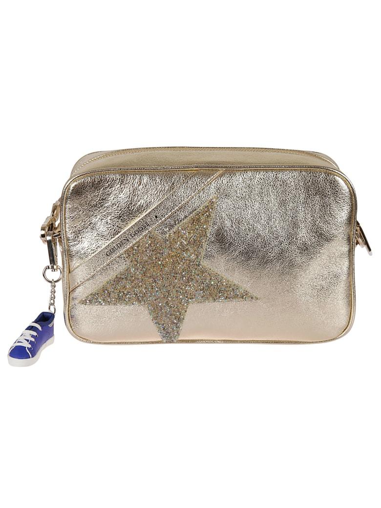 Golden Goose Star Shoulder Bag - Gold Laminated