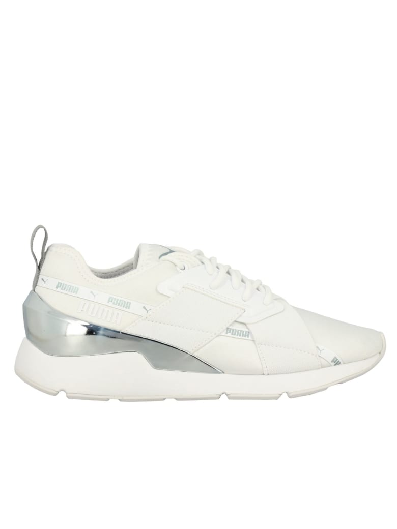 Puma Sneakers Shoes Women Puma - white