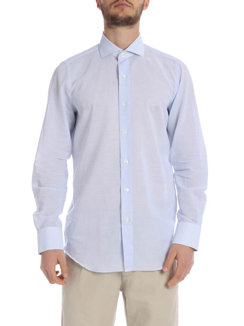 Finamore Shirt Cotton And Linen - heavenly