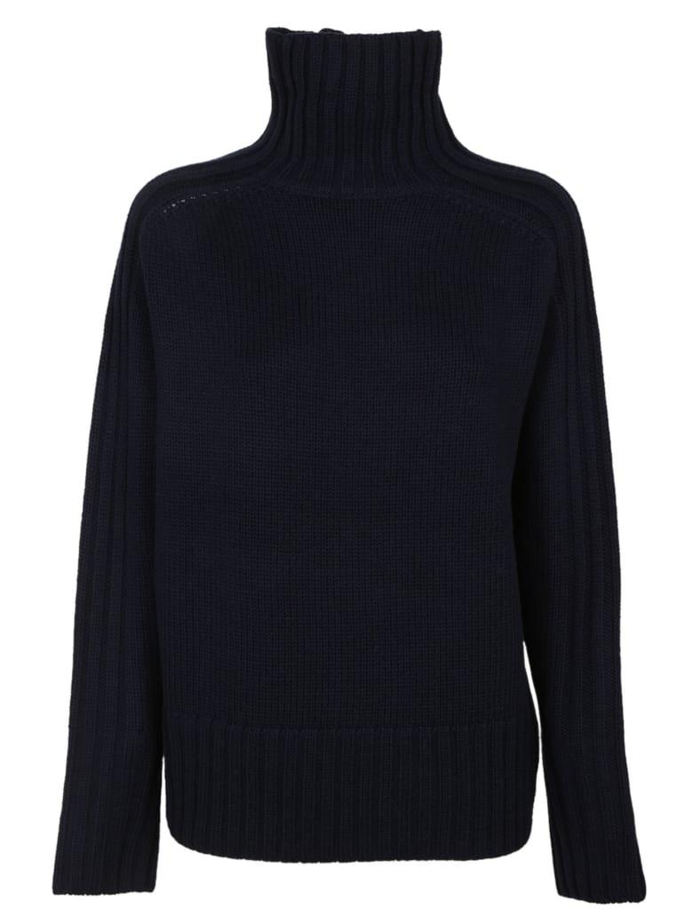 Joseph High Neck Sweater - Navy