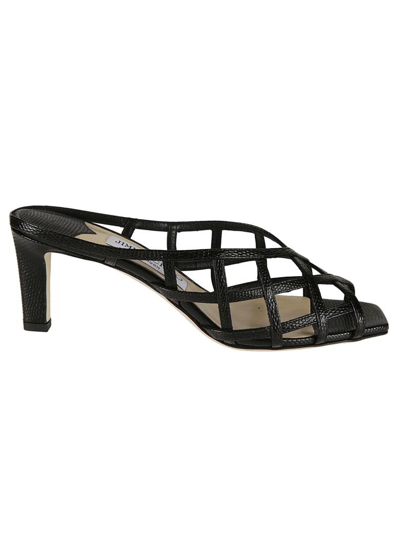 Jimmy Choo Sai 65 Sandals - Black