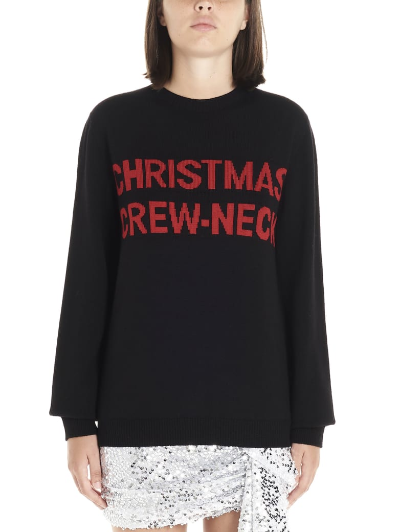 Nervure 'christmas' Sweater - Black